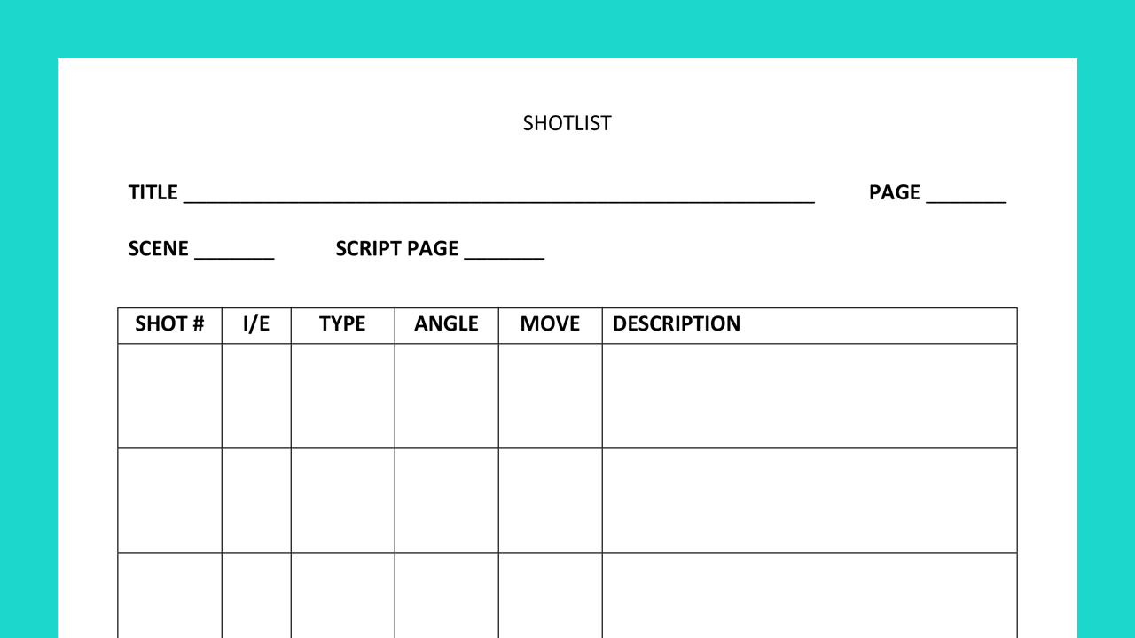 shotlist template thumb
